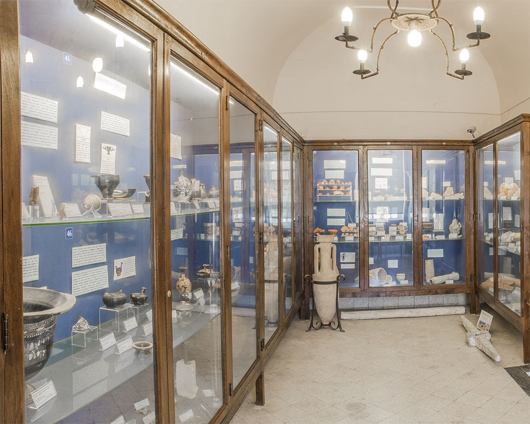 Ignazio Cerio Museum Classical Archaeology Collection