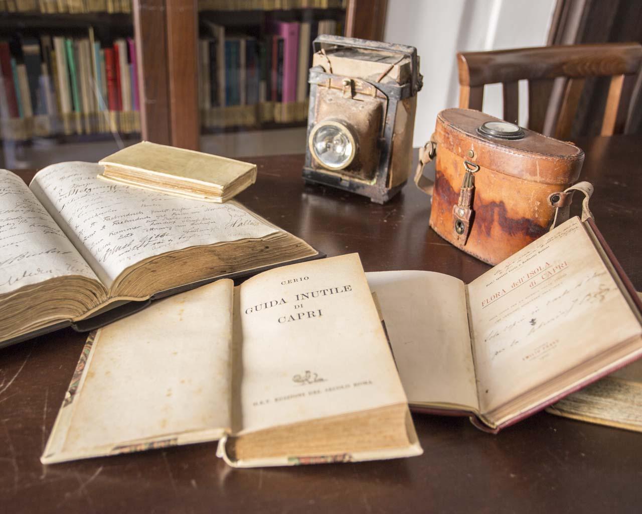 Libri della Biblioteca del Centro Caprense Ignazio Cerio
