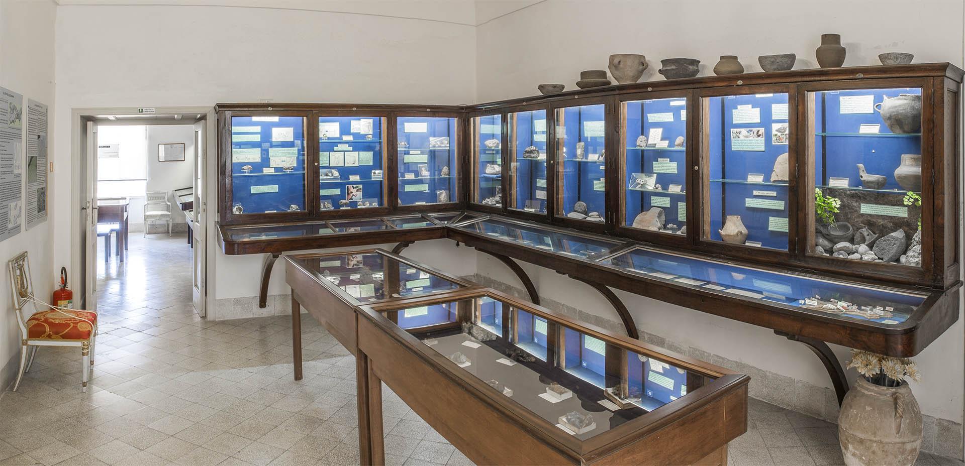 Sala di Preistoria e Protostoria del Museo Ignazio Cerio