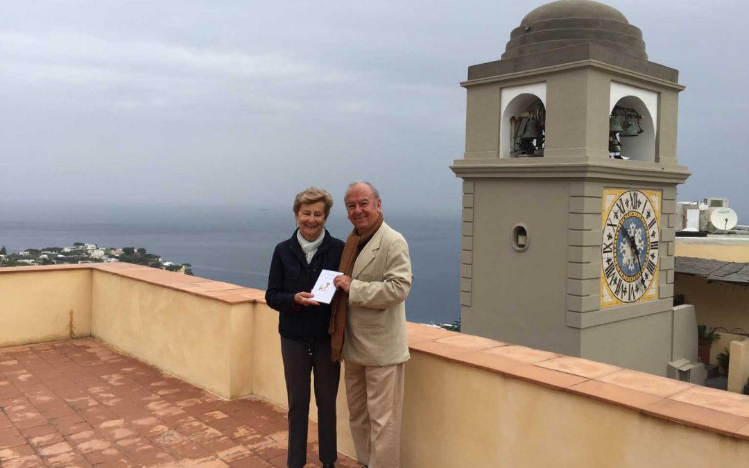 Rodolfo Reyes, nipote del poeta Pablo Neruda, in visita al Centro Cerio