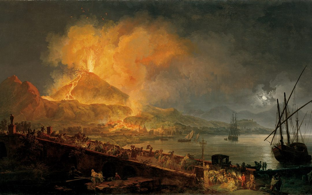 """La notte dei musei al Centro Cerio e conferenza """"Vesuvio 79 d.C.: il giorno fatale"""""""