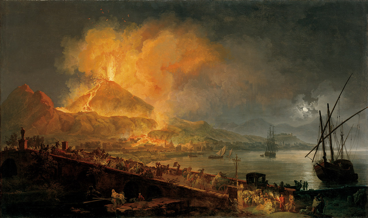 Volaire, The Eruption of Mt Vesuvius