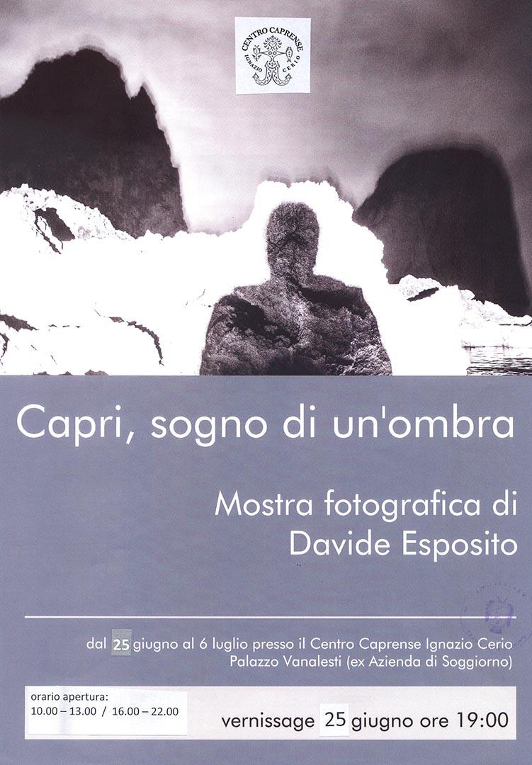Capri, sogno di un\'ombra, la mostra fotografica di Davide Esposito