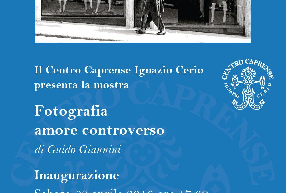 Inaugurazione Fotografia amore controverso, una mostra di Guido Giannini