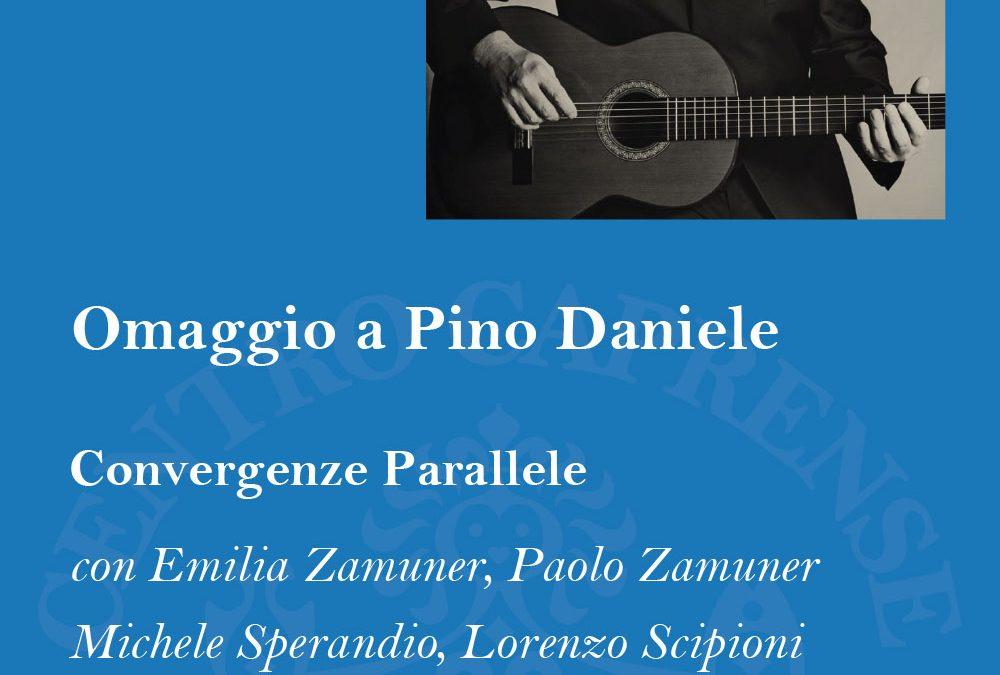 Omaggio a Pino Daniele, venerdì 27 luglio alle 19:00