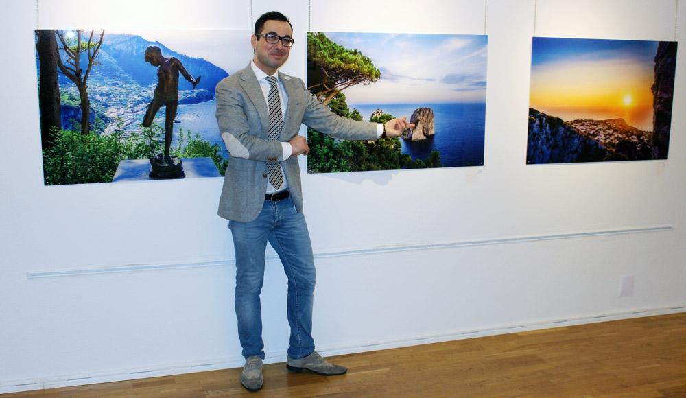 """Presentazione del film documentario """"Capri. L'anima di un'isola"""" del regista Salim Tarazi"""