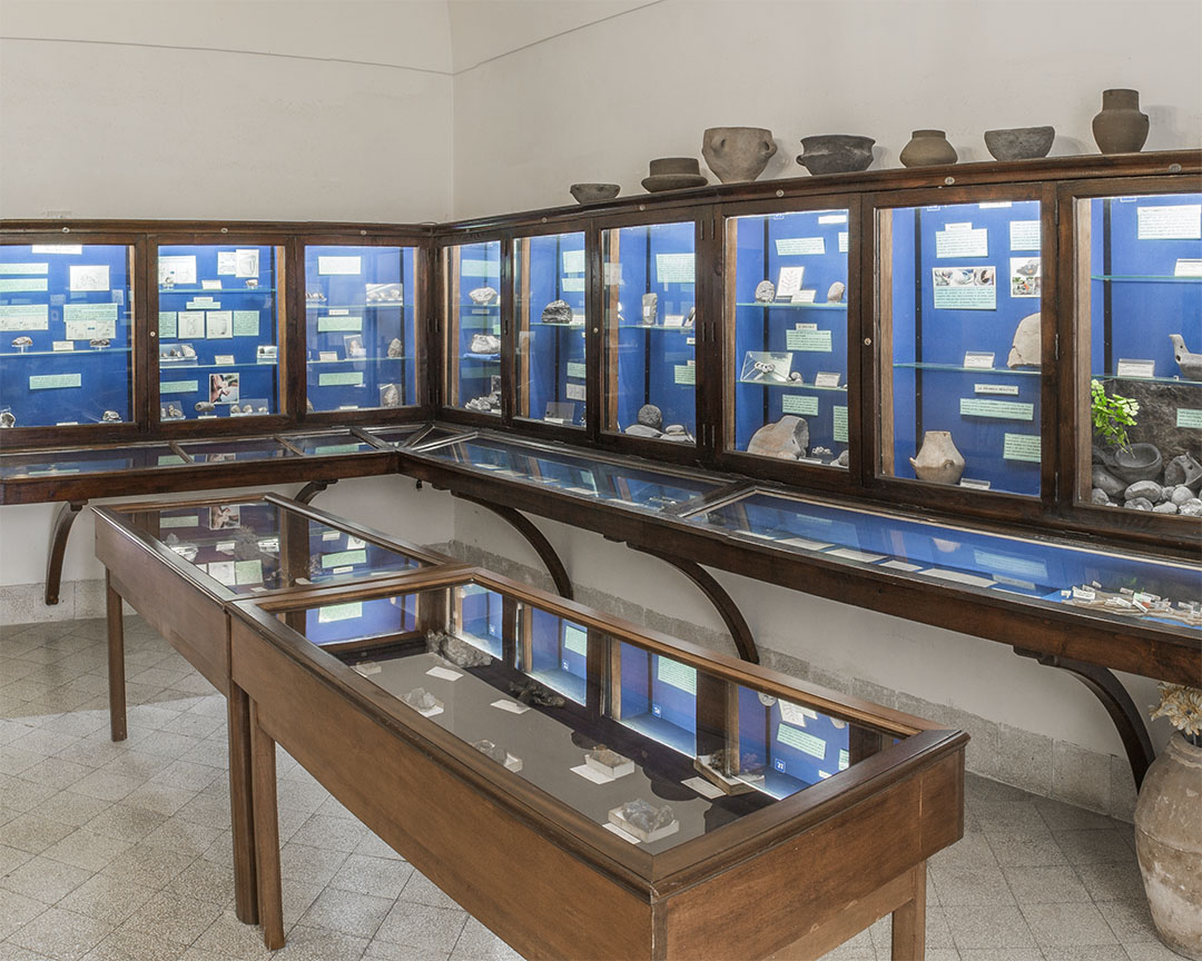 The Prehistory and Protohistory Hall - Ignazio Cerio Museum Capri