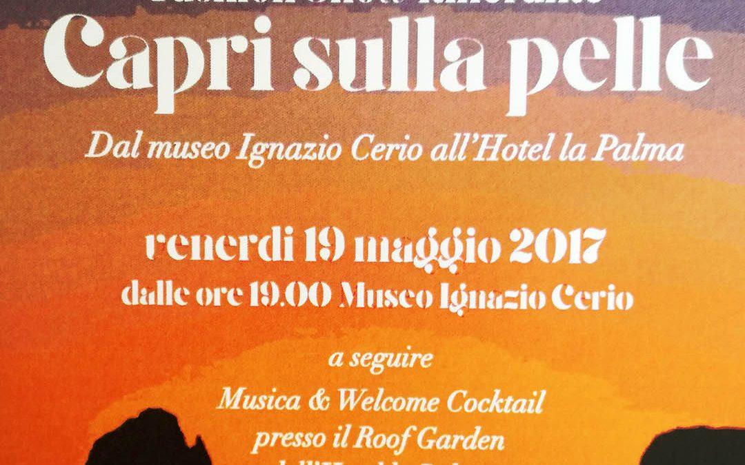 """Fashion Show itinerante """"Capri sulla pelle"""""""