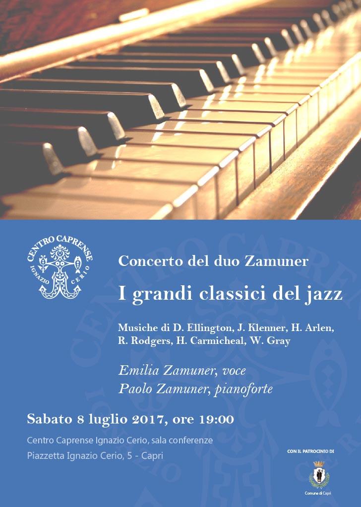 Locandina concerto Zamuner