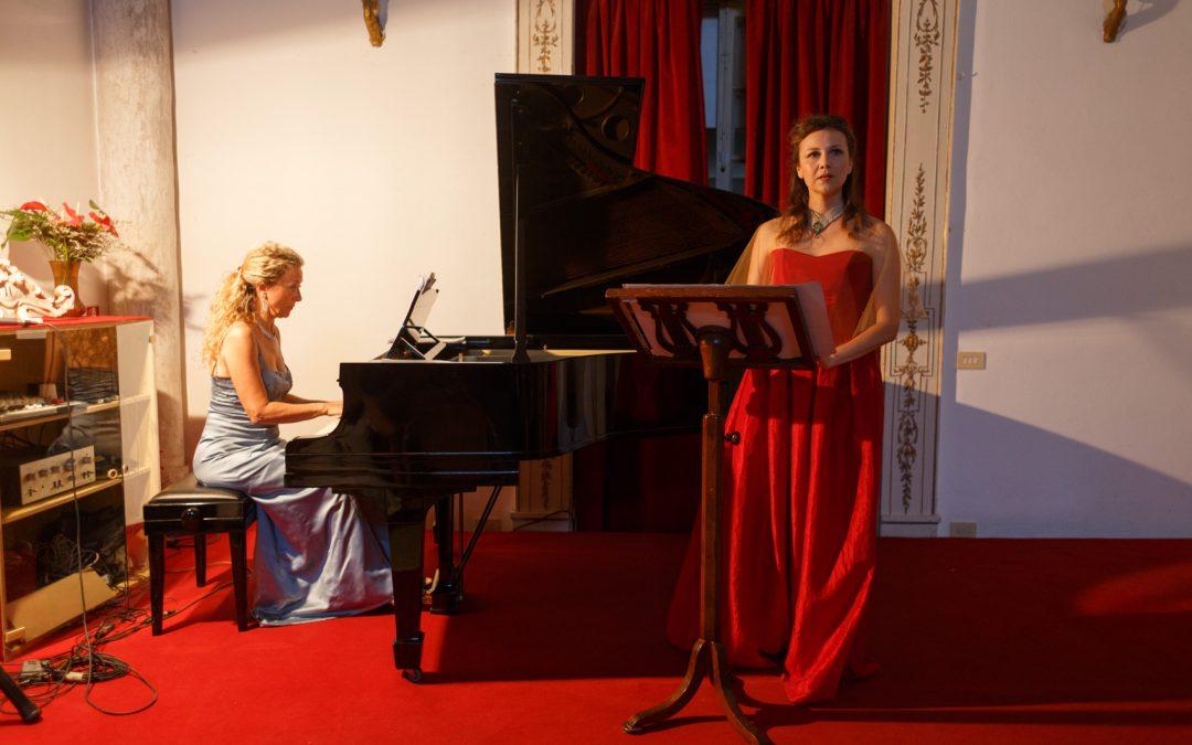 Foto della performance Mia amata immortale al Centro Cerio