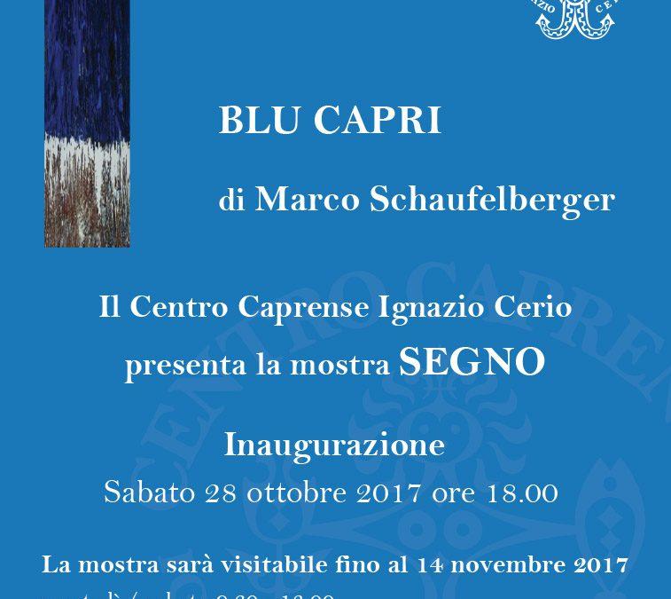 Inaugurazione mostra SEGNO di Marco Schaufelberger