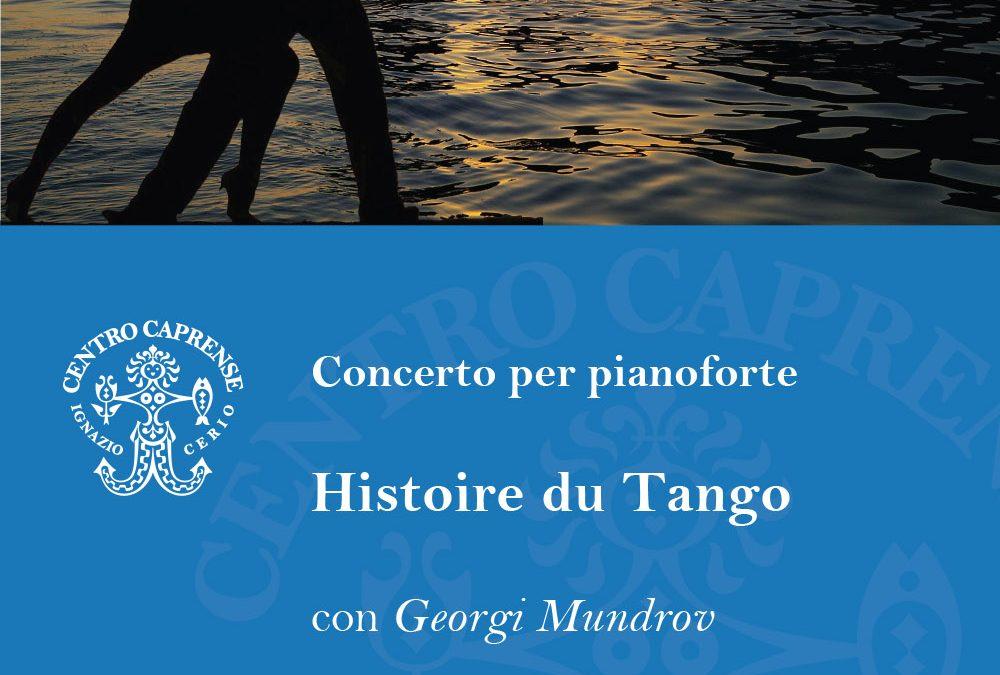 Concerto per pianoforte Histoire du tango con Georgi Mundrov, venerdì 8 giugno alle 19:00