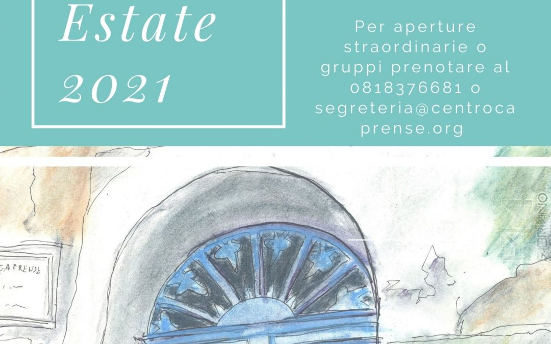 Riapertura Museo Ignazio Cerio estate 2021