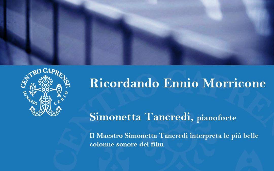 Concerti a Palazzo Cerio venerdì 23 luglio 2021: ricordando Ennio Morricone