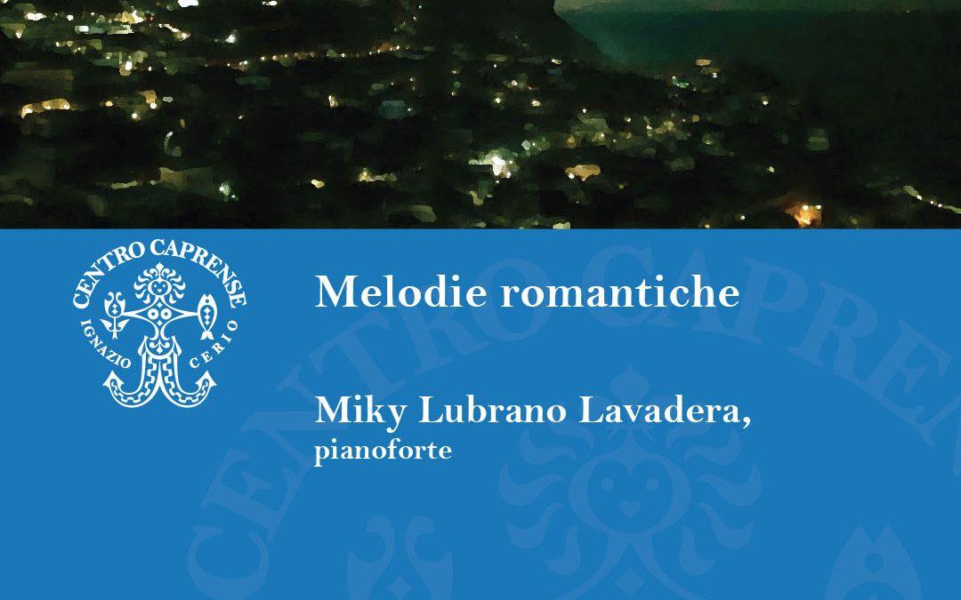 Concerto Melodie romantiche, venerdì 12 agosto 2021
