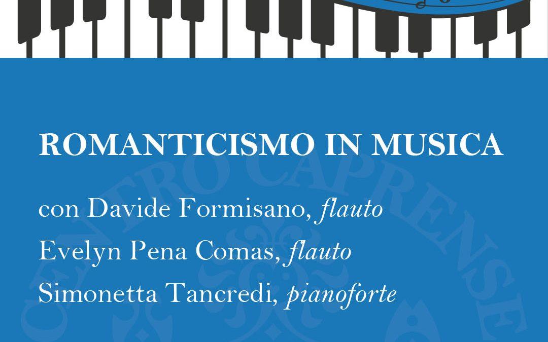Il romanticismo in musica, concerto sabato 25 settembre al Centro Cerio